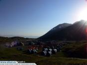 Peak Lenin, Base Camp