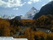 The Caucasus in automne