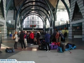 Rail way station Ladojski..